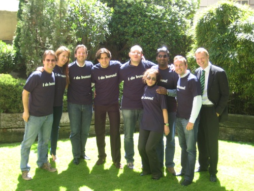 Adrian & Bernhard with MBA Students at Instituto de Empresa