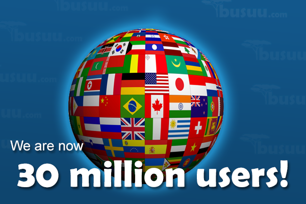 30 million users