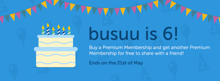 busuu birthday, learn languages online, world largest language learning community