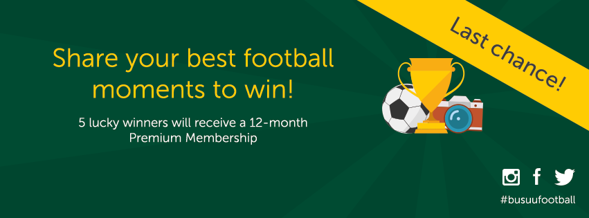 football photo competition, photos, win, Premium Membership