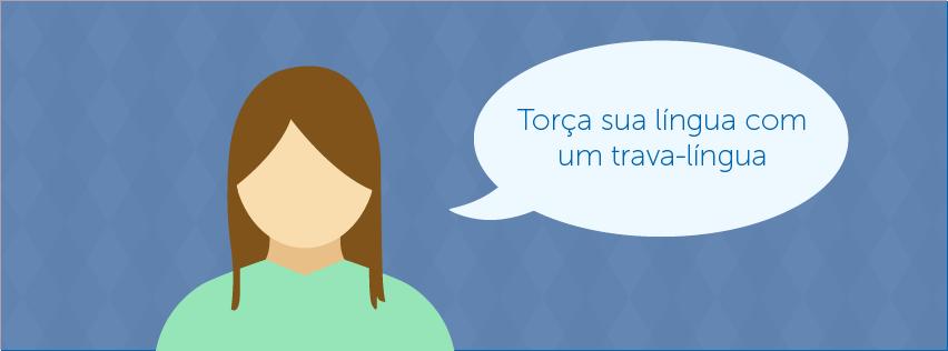 Aprender um idioma com Trava-linguas