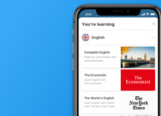 busuu new york times economist english course content header