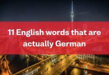 Busuu Blog - German Words In English