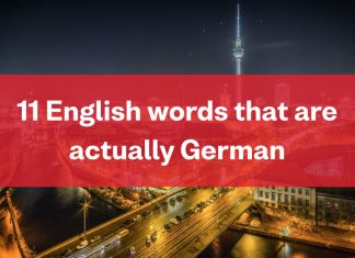 Busuu Blog - German Words In English
