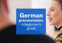German pronunciation: a beginner's guide
